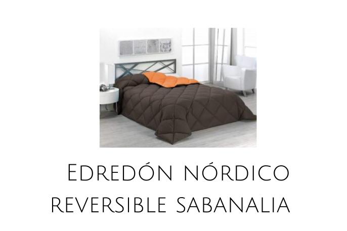 Edredón Nórdico reversible Sabanalia